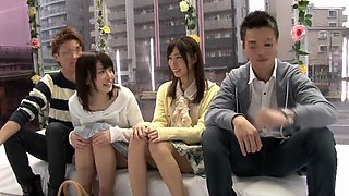 Crazy Japanese whore in Exotic Swingers, Teens JAV scene