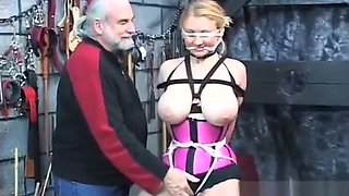 Teen spanked and dominated