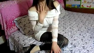 Lascivious Chinese girl