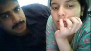 Webcam couple beautiful wife