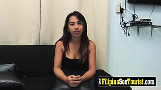 HUNGRY Filipina craves for MASSIVE foreigner's dick