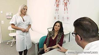 Doctor & Nurse Fuck Patient