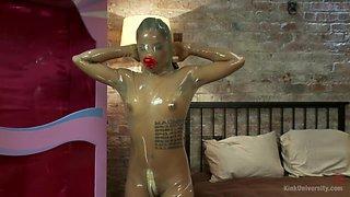 Horny fetish, latex sex movie with best pornstar Jessica Creepshow from Kinkuniversity