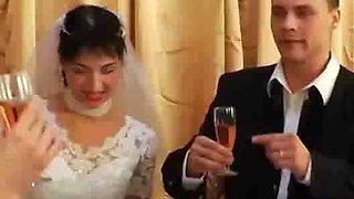 Tyrannized strapon wedding