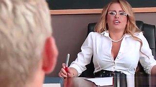 Busty teacher and schoolgirl fucked at school 11