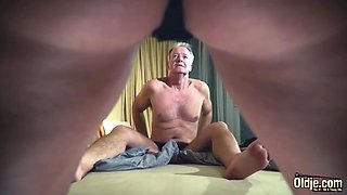 Old And Young Teen Cumshot Compilation