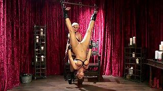 kinky mistress whipping a big ass brunette milf