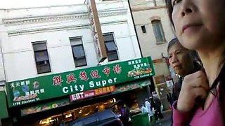 Bootycruise: Arrêt de bus Chinatown Cam 6 - MILF Cam