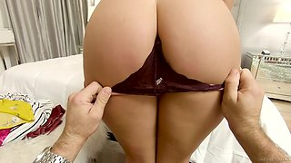 Wonderful gal named Gia Derza loves when sloppy cock tears her pussy apart doggy