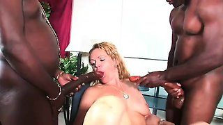 This pretty secretary called us for a black cock delivery
