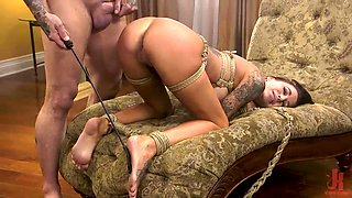 pounding a tied-up sex slave excites me even more
