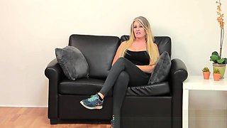 Samantha MILF blows me away in a casting video
