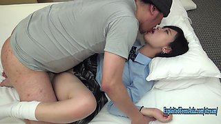 Jav Kawa Amateur Teen Fucks Uncensored In Her Uniform Looks Great Doing Doggy Chubby Ass Pretty Face