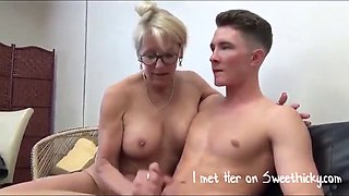 My first time with a hot milf