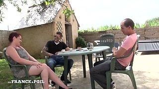 La France A Poil - Bbw Redhead Slut Gets Hard Double Pe