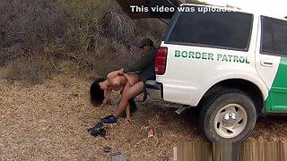 Cop oil orgy xxx Stunning Mexican floozie Alejandra Leon tries to help