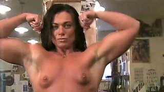 Kim Birtch Nude In The Gym