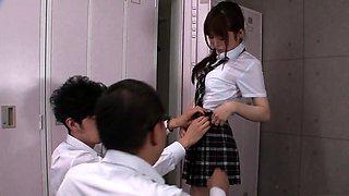 They are so cute Japan schoolgirls Vol 76 - JavHD.net