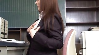 Mei Sawai Lovely Japanese teacher part6
