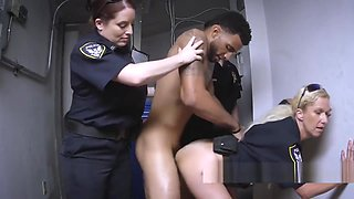 Resistant black criminal gets mistreated in the hottest way ever