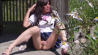 Japanese school crossdresser gurlie pai-chan