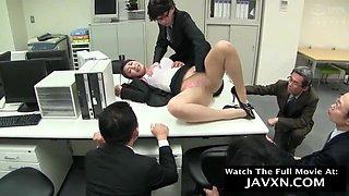 Japanese Office Slut - Everyone Gets A Turn