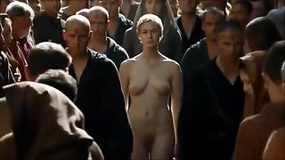 Evil Cersei Lannister Stripped Naked in GOT