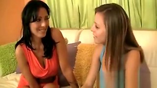 Cougar convinces her young babysitter to make a trio