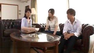 Japanese wife fucking sister husband