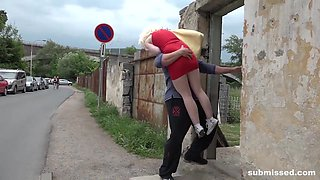 Blonde babe Lovita Fate taken submissed and fucked