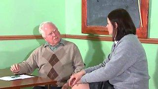 School girl spanked otk&strapped on her barebottom by her teacher