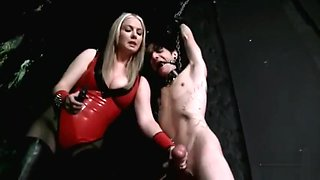 Mistress Tazes slaves ball