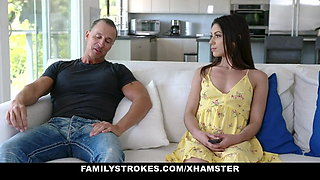 FamilyStrokes - Stepdaughter Fucked By Dad In Front Of mom