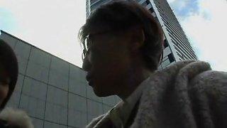 Horny Japanese model in Amazing Lesbian, Medical JAV movie