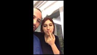 Turkish teen turk yayinda meme ifsa turkish