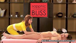 Dillion Harper, April O'Neil in Super Girls Scene