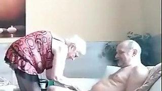 Grandma with grandpa horny