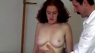 Young girl punished by sadist doctor tits and pussy rubbed and spanked xlx