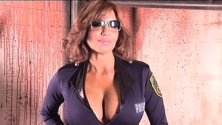 Tara Holiday Sexy Cop Dress Up