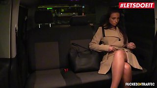 Letsdoeit big ass lonely girl banged by taxi driver