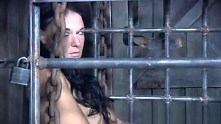 Captured Slave Analy Punished With Machine
