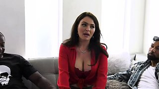 Total Slut Krissy Lynn Gets DPd In Front Of Her New Cuckold