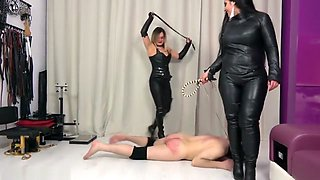 One kiss - one whiplash, with Mistress Athena Prevew