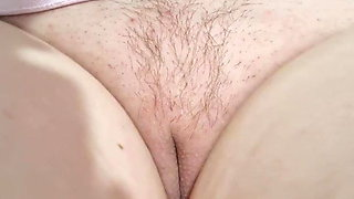 Showing Clit and Labia Piercing Video