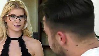 Sexy blonde cheating boyfriend - girlfriend revenge