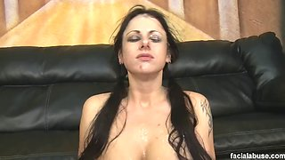 Facial abuse 165 moxxie maddron 2