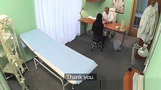 Amateur eurobabes ass gets jizzed by fake doc