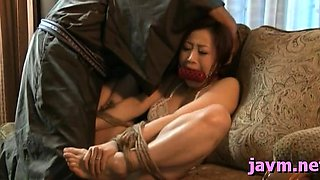 Super sexy japanese milf's ribald cleft and mouth fucked