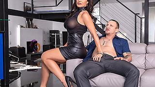 MILF Lisa Ann: Anal Fuck + Titty Cum