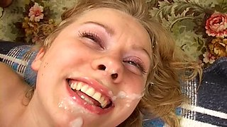 Real drunk russian teen abused in all her holes